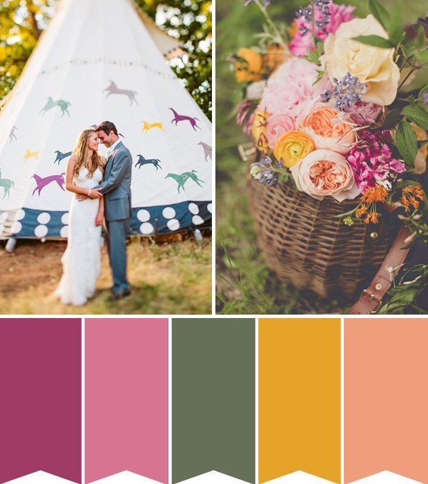 Planning a Summer wedding and thinking of adding a little festival wedding chic to the occasion? We've got it all sorted for you in one beautiful board
