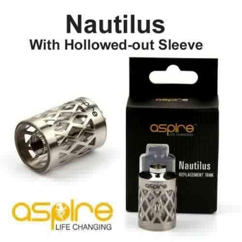 #Aspire Nautilus Replacement Tank - A perfect fit for your Aspire Nautilous BDC and a stunning design will give your Nautilus Mini Tank a new design.