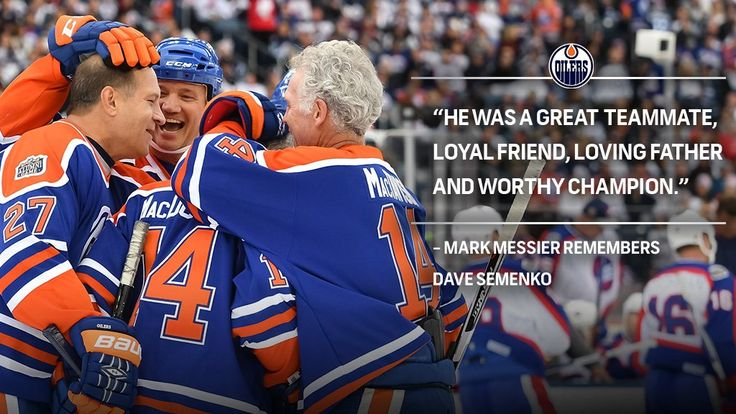 Mark Messier speaks about his former teammate and good friend, Dave Semenko.