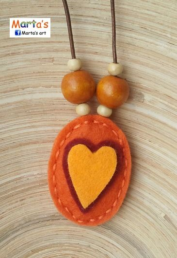 felt jewellery - #huopa #koru #äitienpäivä