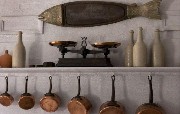 Image Result For Hanging Shelves Kitchen