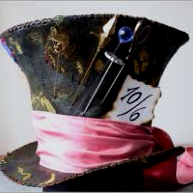 how to make a mad hatter hat