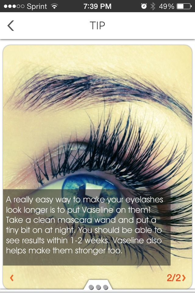 how to grow your eyelashes longer and thicker overnight