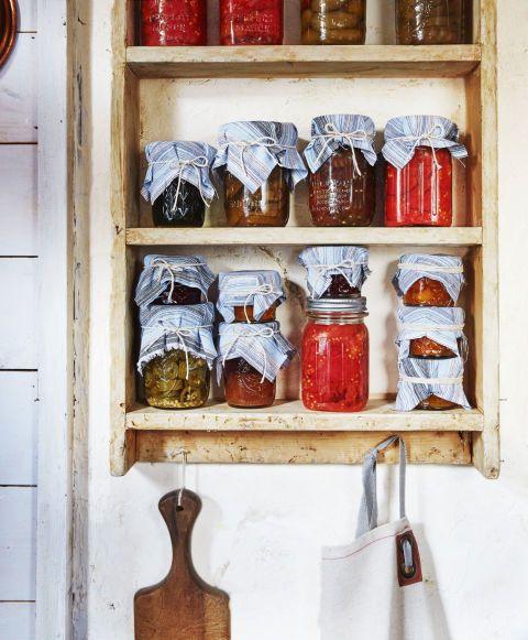 Mason jar storage!
