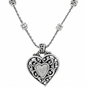 #WinOurHearts ..... Reno Heart Necklace  available at #Brighton