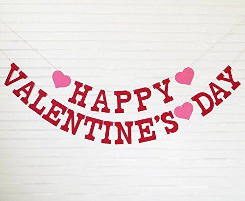 Happy Valentine's Day Banner - Letters with Hearts - READ... https://www.amazon.com/dp/B00SN09CDK/ref=cm_sw_r_pi_dp_kt3HxbVMR7SZT