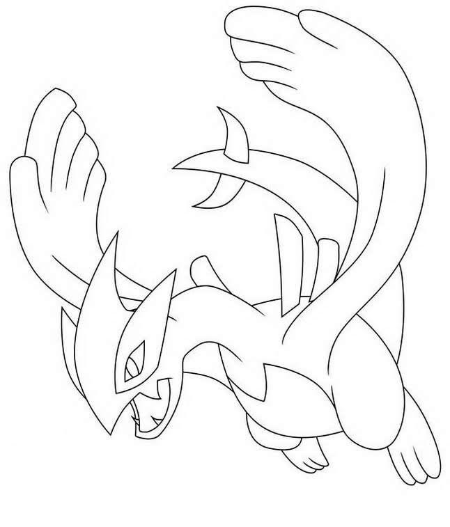 Legendary Lugia Pokemon Coloring Pages Pokemon Coloring Pages Pokemon Tattoo Pokemon Coloring