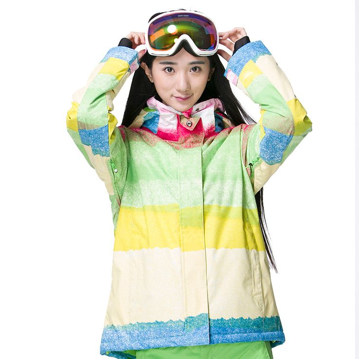 Gsou Snow Ski Jacket Women Brand Snowboard Jacket Winter Women Clothes Thermal Thicken Outdoor Wear Clothing Female  #Affiliate