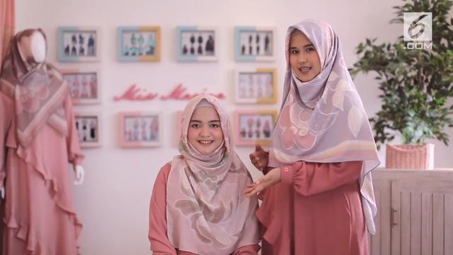 Tutorial Hijab Segi Empat Satin Motif Gaya Hijab Hijab Kasual