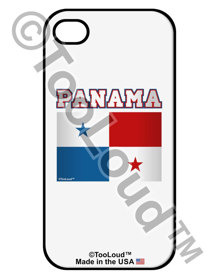 Panama Flag iPhone 4 / 4S Case by TooLoud