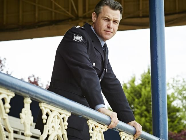 Rodger Corser has a new role on the popular murder-mystery show. Chief Supt Frank Carlyle