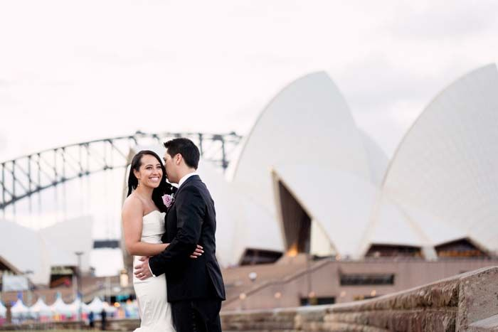 Christine and Paul's Luxurious Sydney Harbour Wedding