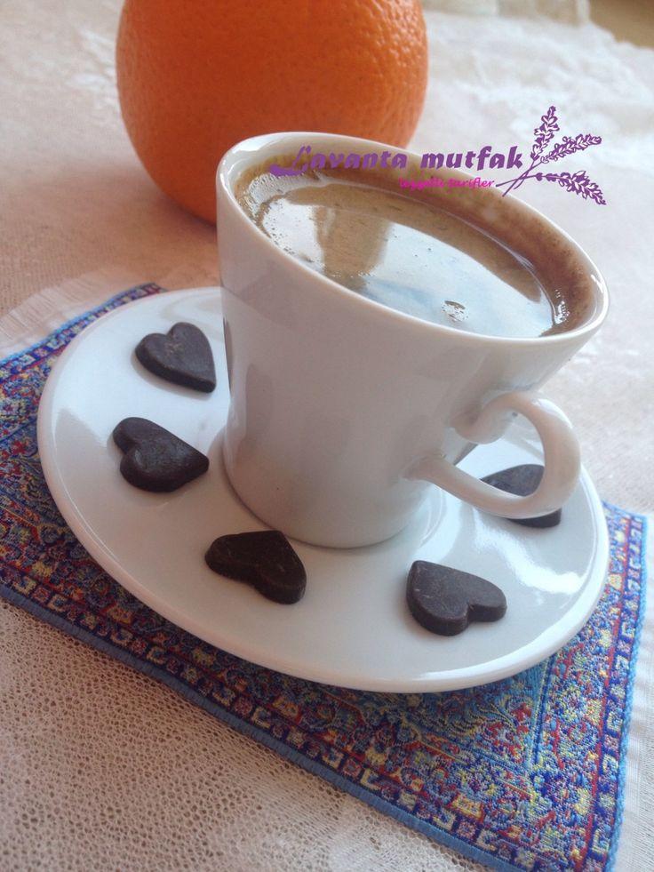 Portakal İçinde Türk Kahvesi