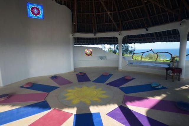 Watamu Treehouse Yoga Room overlooking the Ocean