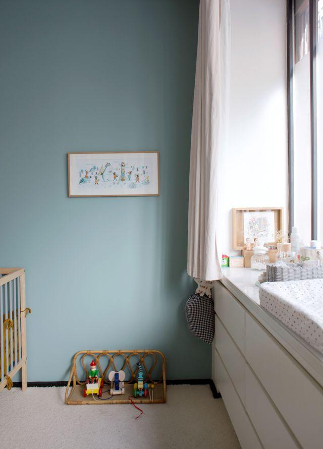 Beau bleu pour la chambre