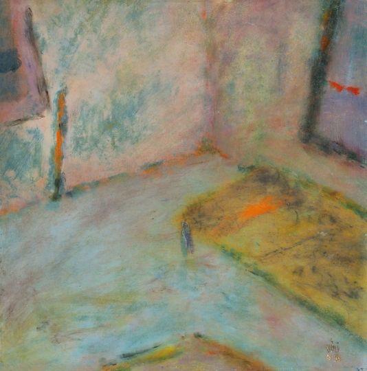 Váli Dezső, Műterem ággyal, 1998
