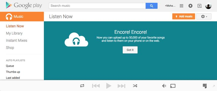 Google increases free music library capacity to 50,000 songs