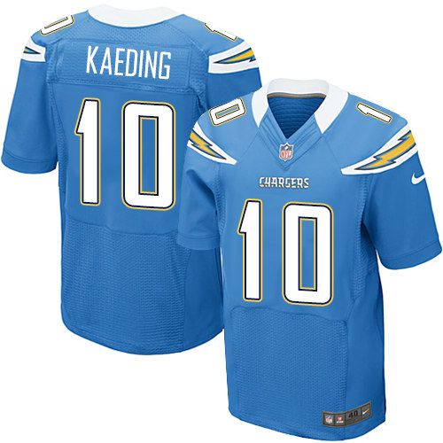 Nate Kaeding Elite Jersey-80%OFF Nike Nate Kaeding Elite Jersey at Chargers Shop. (Elite Nike Men's Nate Kaeding Electric Blue Jersey) San Diego Chargers Alternate #10 NFL Easy Returns.
