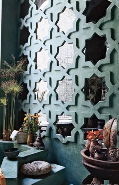 From Elle Decor, about 5ish years ago... I've been lusting after this since I first happened upon it.