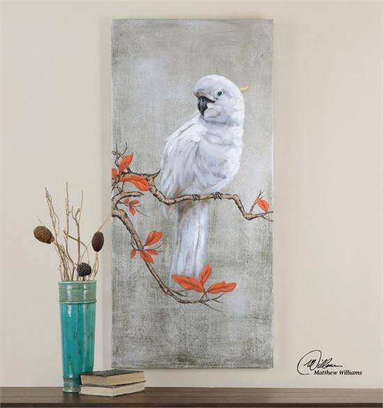 Uttermost Serene Hand Painted Art 31305