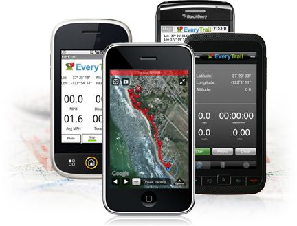 Mobile Travel App, GPS Tracking | EveryTrail