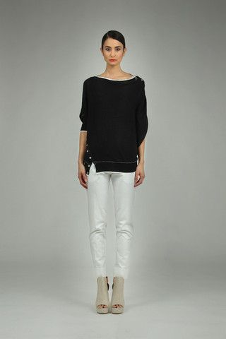 Taylor 'Incision' Collection, Summer 13/14   www.taylorboutique.co.nz Taylor - Contort Sweater