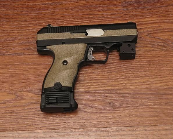 Custom Hi-Point. People may diss the hi point, but you can't afford anything else and need self defense, this will save you life. I own a