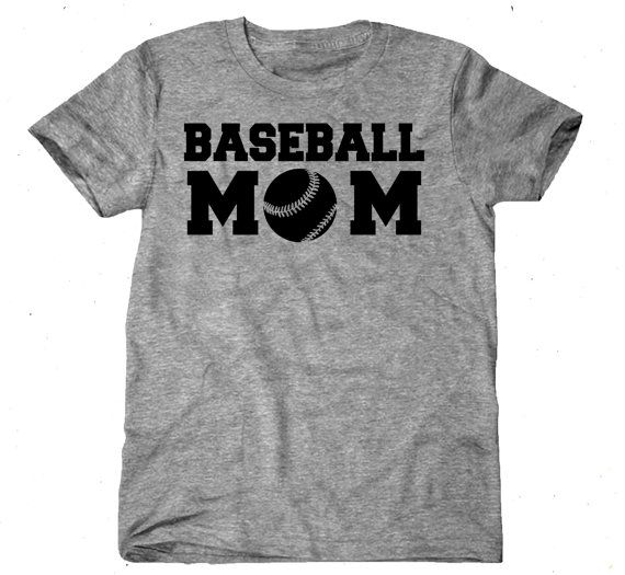 Baseball Girlfriend T-Shirts Baseball Mom Unisex by livefitapparel