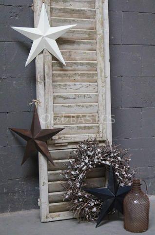 Metalen ster 80114 - Decoratieve metalen sterren. Met een doorsnede van 40 centimeter. Leuk om op te hangen of neer te leggen! Verkrijgbaar in de kleuren wit, zwart en roest. Bij online bestellingen s.v.p. aangeven welke kleur u wilt!
