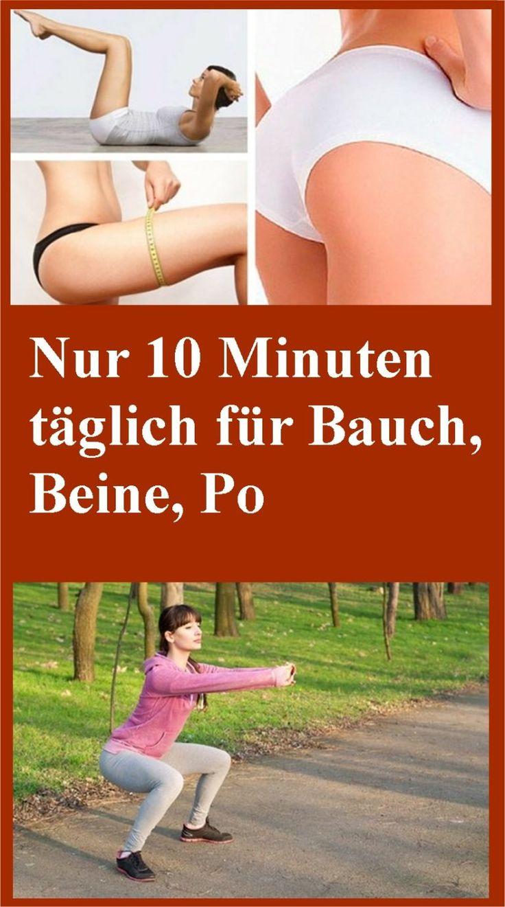 Nur 10 Minuten täglich für Bauch, Beine, Po | njuskam!