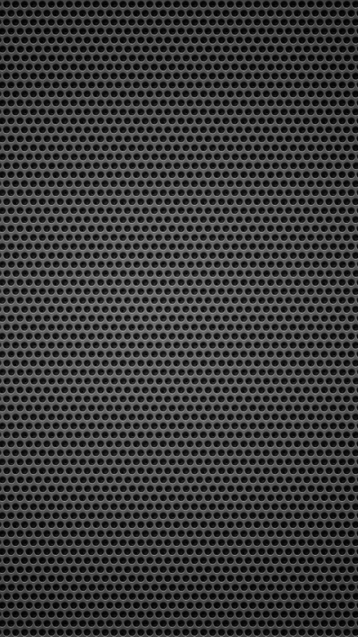 Black Background Metal Hole Small iPhone 6 Wallpaper