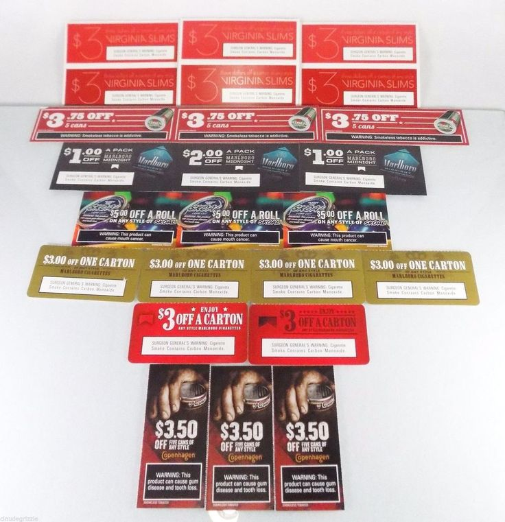 Red seal smokeless tobacco coupons / Philadelphia eagles