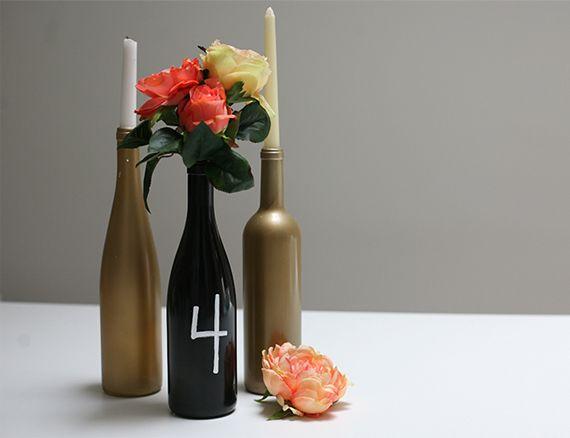 centros de mesa botellas con globos - Buscar con Google