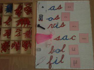 La série rose (Méthode de lecture Montessori) | Familyandco