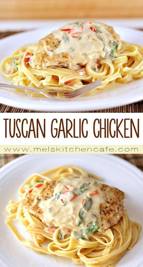 If you have a craving for tender chicken, hearty pasta and an unbelievably tasty creamy Parmesan sauce, this is the meal for you.