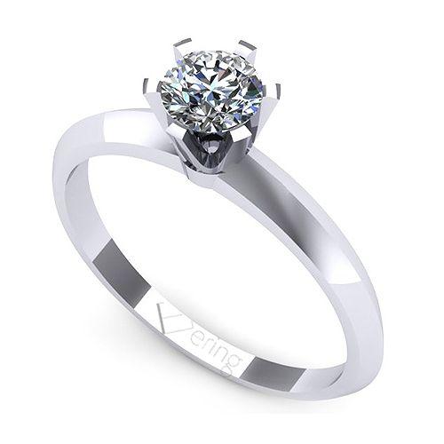 Inel logodna L111ADI cu diamante