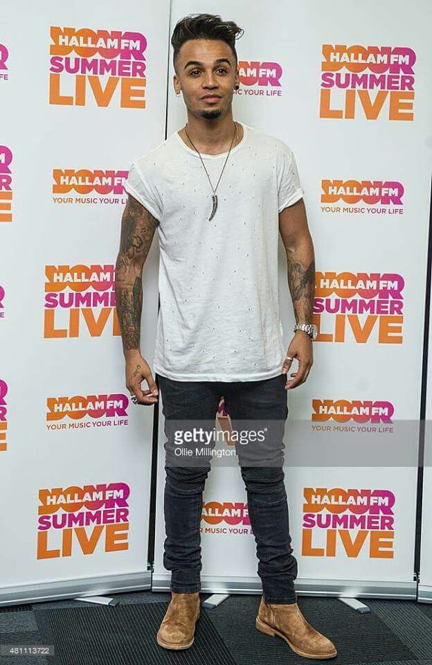 Aston Merrygold at Hallam FM Summer Live (17.7.2015)