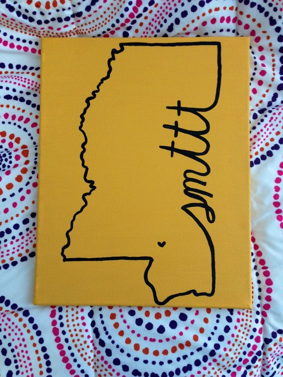 University of Southern Mississippi SMTTT Canvas $15.00