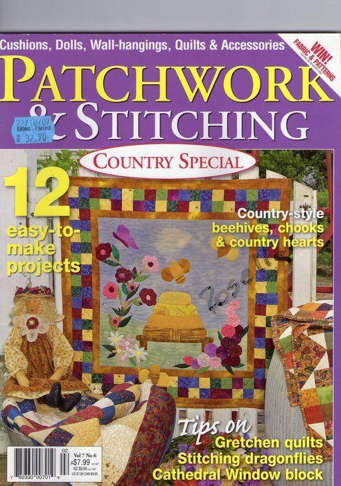 PATCHWORK & STITCHING - No.:6.