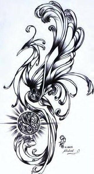 Phoenix tattoo inpiration