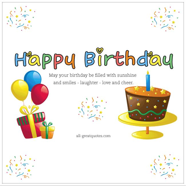 1000+ Ideas About Birthday Greetings For Facebook On