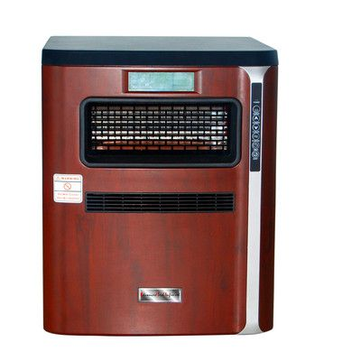 Advanced Tech Infrared 1,500 Watt Portable Electric Infrared Cabinet Heater with Air Purifier, Hepa Filter, Humidifier