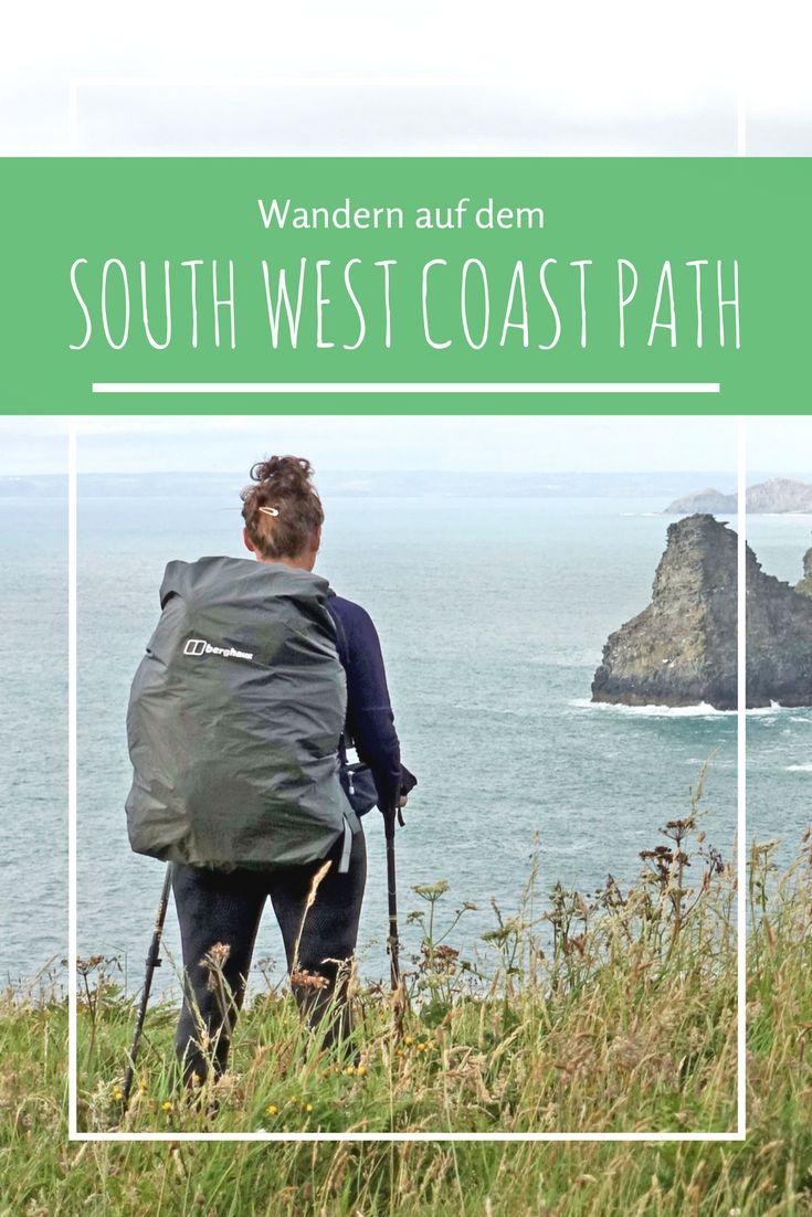 Alles was Du wissen musst, wenn Du auf dem South West Coast Path an der Südküste Englands wandern möchtest. Tipps zu Unterkünften, bester Reisezeit für eine Fernwanderung und vielem mehr!