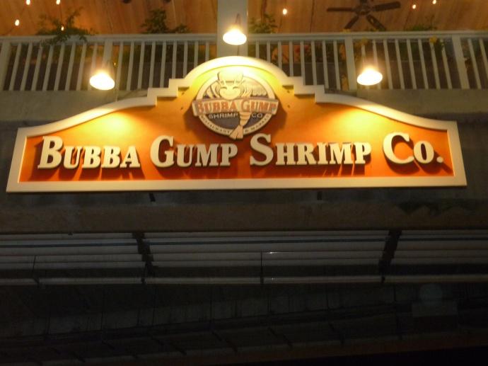 Buba Gumps, Treasure Island