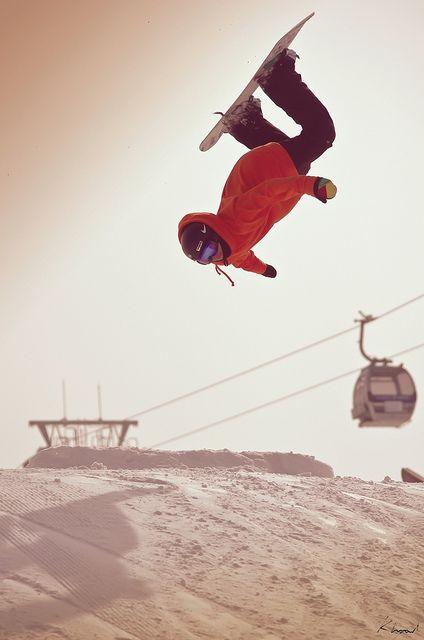 Snowboarding en Argentina es un deporte muy divertido.
