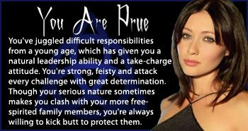 Charmed - Personality Quiz - Which Charmed Character Are You?