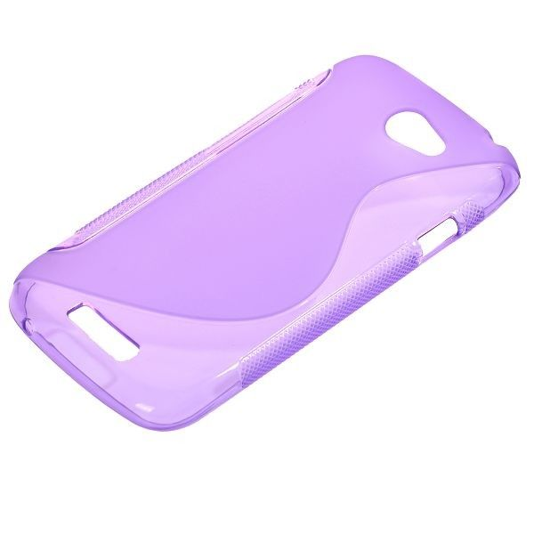 S-Line Transparent (Lilla) HTC One S Cover