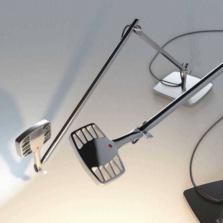 Luceplan Otto Watt, puoi scegliere tra luce calda o diurna, ogni volta che vuoi!