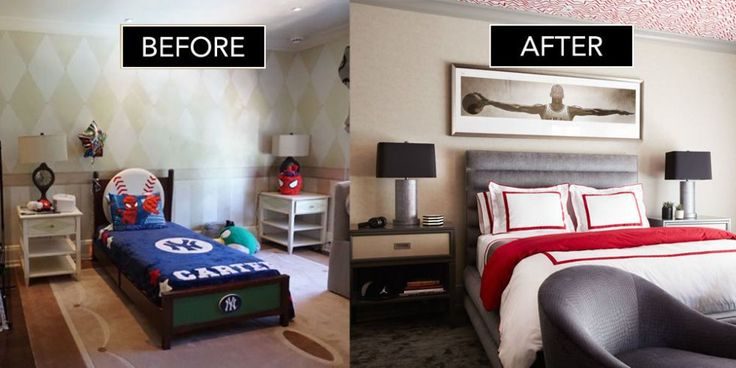 Before + After: A Pre-Teen Bedroom With Sophistication To Spare - ELLEDecor.com