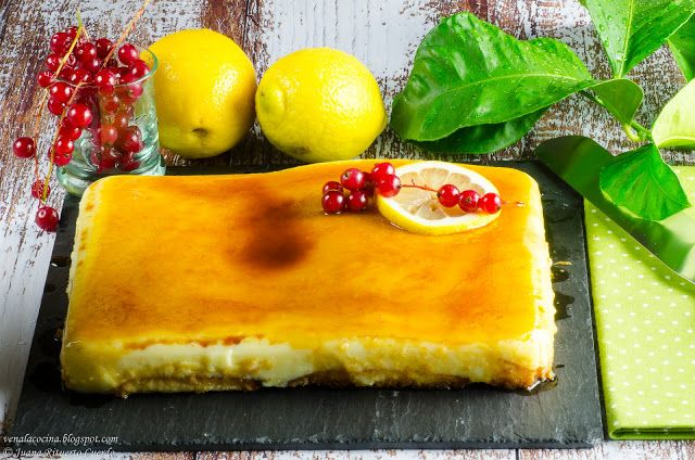Tarta de limón fácil